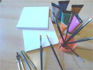 Farben und Bildrahmen