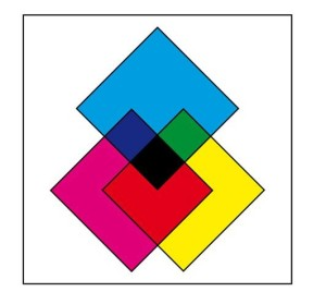 subbtratkive Farbmischung